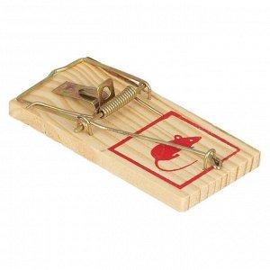 Мышеловка деревянная Большая MOUSE Trap (1\10шт)