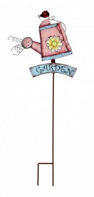 Декор садовый Лейка 32*90см/ SL-3269 (металл)