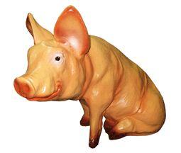 Фигурка Свинка сидячая 24*53*35см 14.11