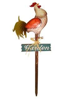 Декор садовый Курица 85*29*2см/ CS-10674