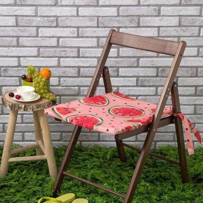 Подушки, Одеяла, Наматрасники, Чехлы на мебель — Подушки на стул — Декоративные подушки
