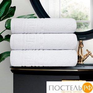 Набор из 3-х полотенец Cezar 50х90 см, 430 г/м2 белый