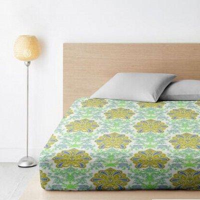 ОГОГО Какой Выбор постельного белья. Красивые расцветки — Простыни на резинке Ширина 200 см. — Простыни на резинке