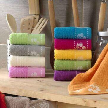 ОГОГО Какой Выбор Домашнего Текстиля — Полотенца для рук и лица (30х30 см) — Полотенца