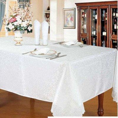 ОГОГО Какой Выбор Домашнего Текстиля — Скатерти Квадратные — Клеенки и скатерти