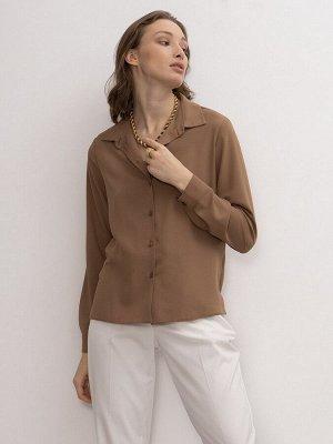 Однотонная рубашка B2260/fair