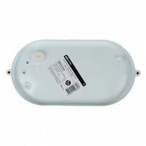 Светильник TDM НПБ1402, Е27, 60 Вт, IP54, овальный с решеткой, белый