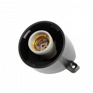 Светильник НББ 01-60-002 УХЛ1, Е27, 60 Вт, 220 В, IP65, до +125°, чёрный