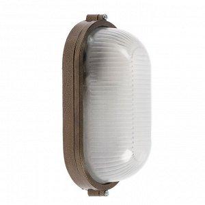 Светильник НБП 04-60-001 УХЛ1, 60 Вт, E27, 220 В, IP54, до +130°, цвет бронза