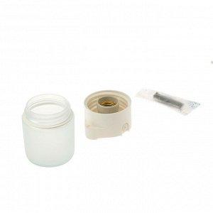 Светильник для бани/сауны ITALMAC Sauna 02 01, 60Вт, IP65, цилиндр прямой, белый +130°C