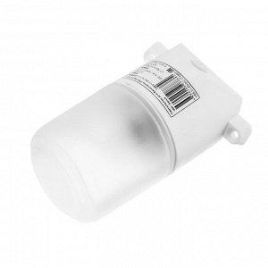 Светильник для бани/сауны ITALMAC Sauna 02 01, 60Вт, IP65, Е27, наклонный, белый +130°C