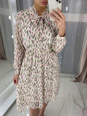 Платье Размер единый Принт может незначительно отличаться от фото