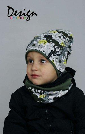 Комплект для мальчика хлопковый «Абстракция»