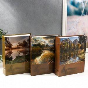 """Фотоальбом на 200 фотографий """"Ландшафт-5"""" 10*15 см МИКС"""
