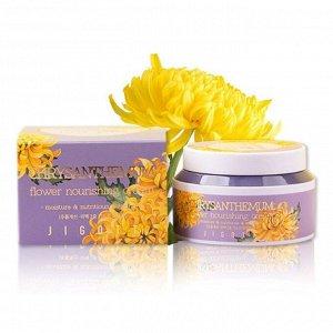 Питательный крем для лица с экстрактом хризантемы.