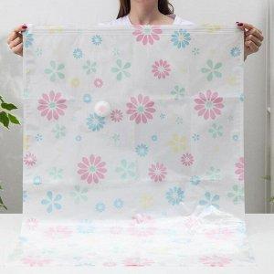 3782364_Вакуумный пакет для хранения одежды «Ассорти», 70?100 см, рисунок МИКС