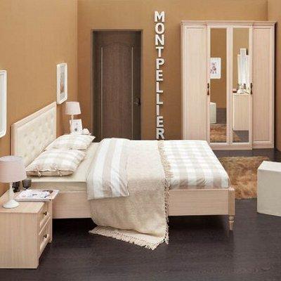 Классический и современный стиль. Мебель для каждого! — Спальня Montpellier (Дуб млечный-Орех шоколадный) — Мебель