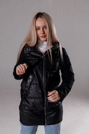 "Куртка стеганая цвет ""Black"""