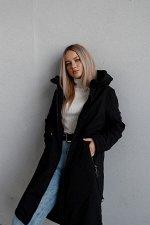 Куртка деми цвет черный