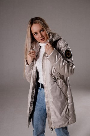 "Куртка деми цвет ""айвори"""