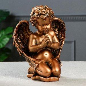 """Статуэтка """"Ангел молящийся"""" бронза, 25 см"""