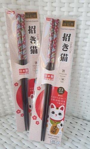 """Палочки для суши-роллов """"Кошка манеки"""""""