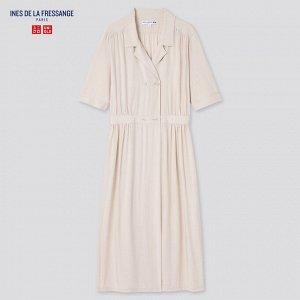 Женское платье,бежевый