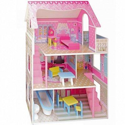 ВЕЛОСИПЕДЫ🌠ИГРУШКИ❋Большой ассортимент❋Быстрая доставка  — Кукольные домики и кухни из дерева — Деревянные игрушки