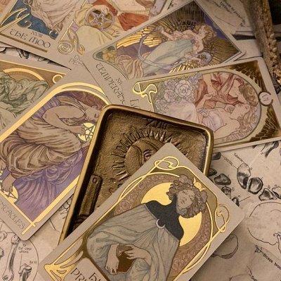 Соляные лампы, карты таро и магическая атрибутика — Таро в английских коробках инструкция русская — Художественная литература