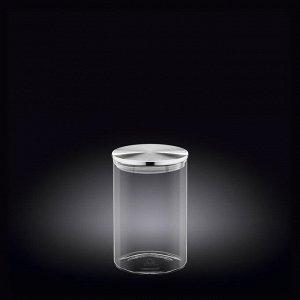 WILMAX Thermo Glass Емкость для продуктов со стальной крышкой 950мл WL?888514/A