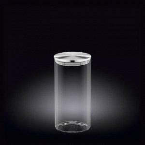 WILMAX Thermo Glass Емкость для продуктов со стальной крышкой 1300мл WL?888516/A