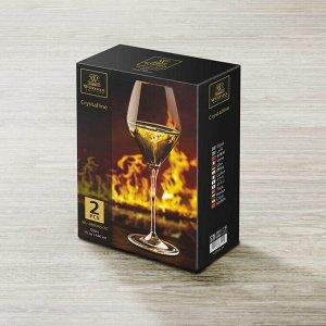 WILMAX Crystalline Набор бокалов для вина 2шт, 440мл, в п.у. WL?888045/2C