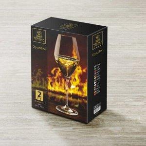 WILMAX Crystalline Набор бокалов для вина 2шт, 700мл, в п.у. WL?888047/2C