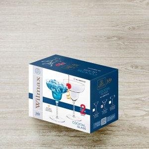 WILMAX JV Набор бокалов для коктейлей 2шт, 250мл, в п.у. WL-888107-JV/2C