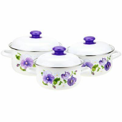 Домашняя мода — любимая хозяйственная, посуда  — Посуда-Эмалированная посуда - 3 — Для дома