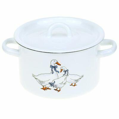 Домашняя мода — любимая хозяйственная, посуда  — Посуда-Эмалированная посуда - 2 — Для дома