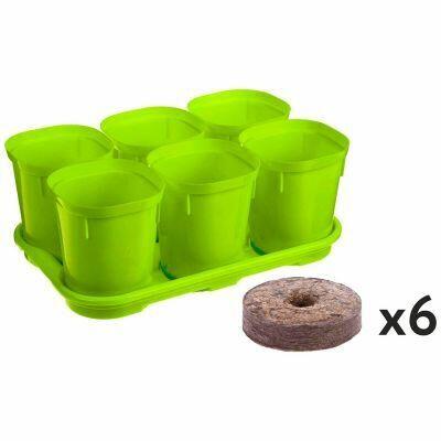 Домашняя мода — любимая хозяйственная, посуда — Цветочные горшки и кашпо-Пластиковые горшки и кашпо - 2