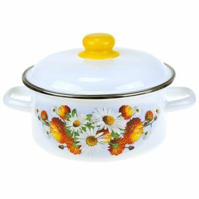 Домашняя мода — любимая хозяйственная, посуда — Посуда-Эмалированная посуда