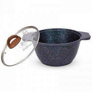 """""""Granit Ultra"""" Кастрюля с тефлоновым покрытием 1л, д18см, h9"""