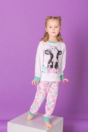 """Пижама """"Цветочная корова"""""""
