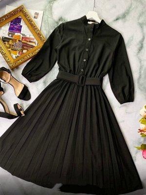 Платье Платья плиссе длинна 106-108 см Ткань барби ремешок в комплекте