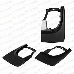 Брызговики универсальные для легковых автомобилей, черные, 2шт. AIRLINE AMF-00