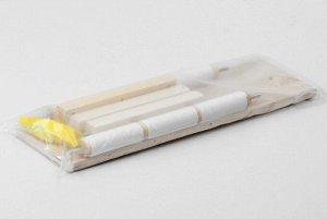 Пяльцы-рамка для вышивания, 20*30см, с подставкой, цвет светлое дерево