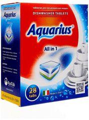 Таблетки AQUARIUS для ПММ All in1  28 таб.