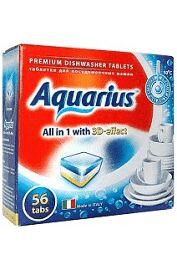 Таблетки AQUARIUS для ПММ All in1  56 таб.