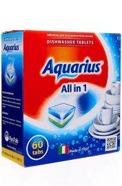 Таблетки AQUARIUS для ПММ All in1  60 таб.