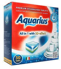 Таблетки AQUARIUS для ПММ All in1  30 таб.
