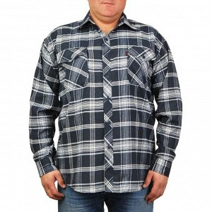 351455 Рубашка мужская в клетку