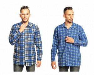 35118 Рубашка фланель мужская