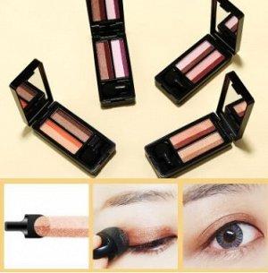 Тени для век SENANA Lazy Double-Tone Gradient Eye Shadow 4 цвета, 4,8 гр